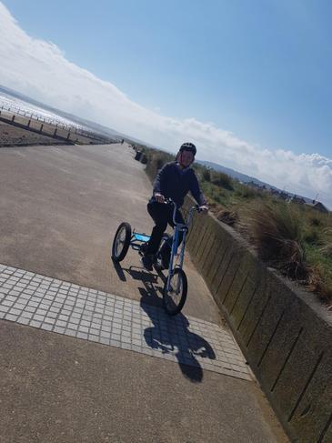 Ryan on a bike ride