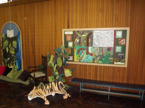 Y3 and Y4's art work for Picture This.