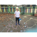 Creating our own Rangoli Patterns