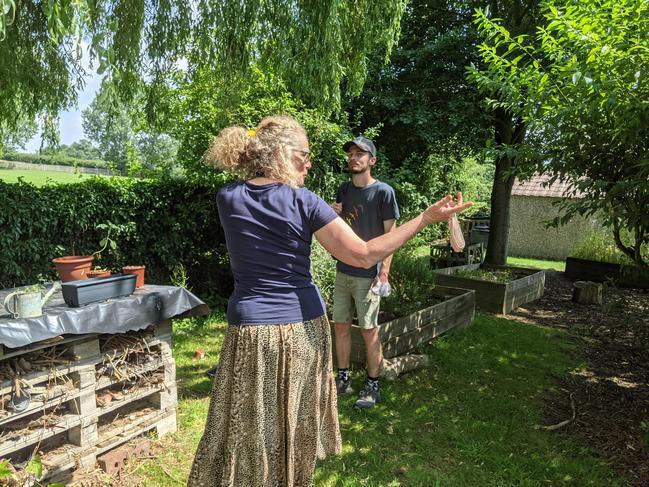 Warwickshire Wildlife Trust visit as part of 'Wilder Communities' project