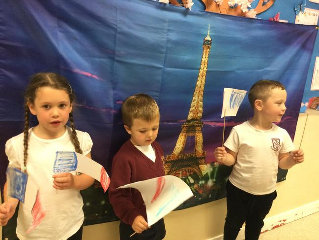 French Day in Reception
