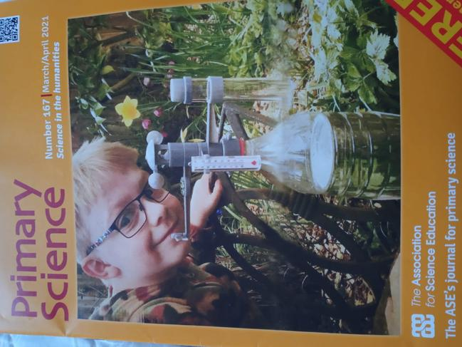 One of our pupil's work on Climate change is published in Primary Science