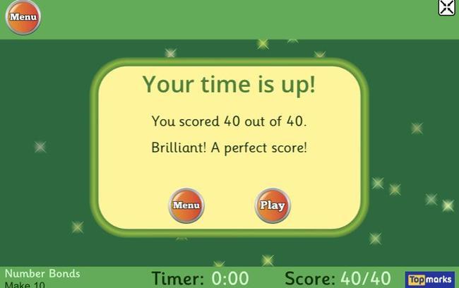 Mrs Davies' score