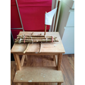 Twig boat from