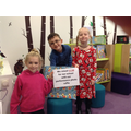 School Council children picked winning ticket