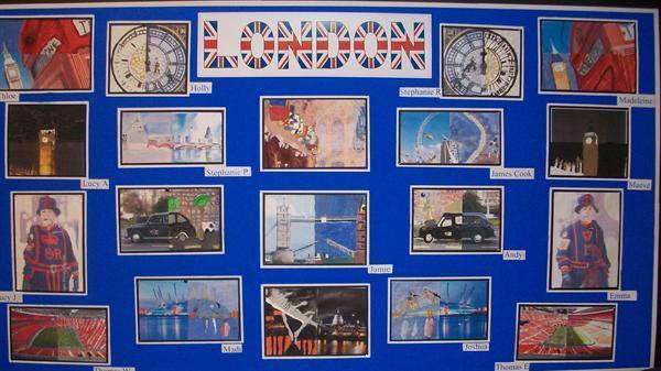 London landmarks Year 5