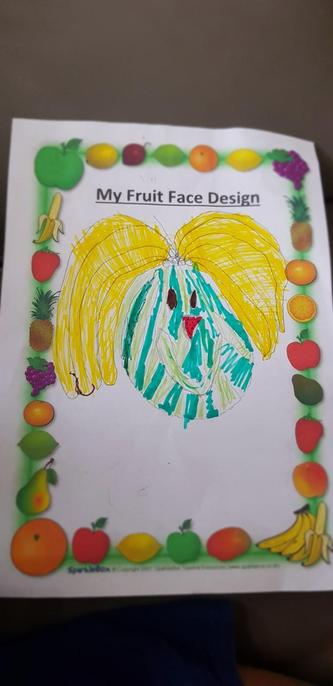 What a fantastic design for your fruit face Amy!