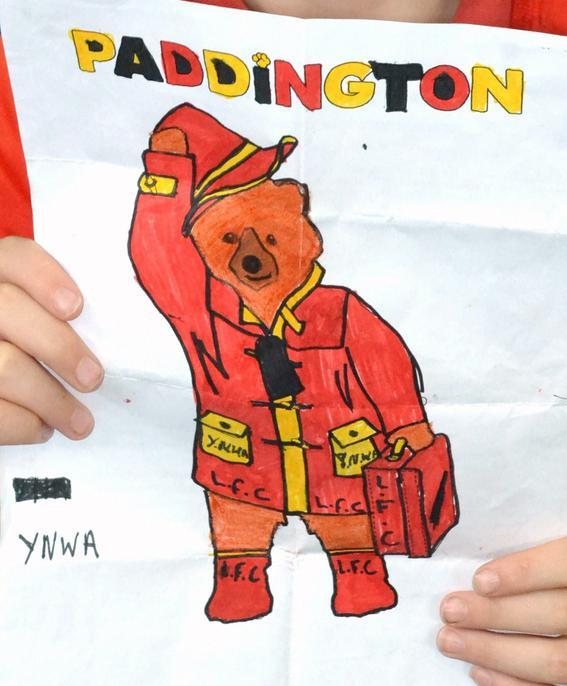 y6 Dean's 'L.F.C.' Paddington
