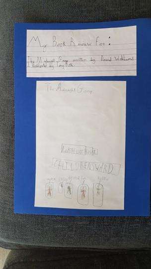 Michael's Magical Book Review - title page