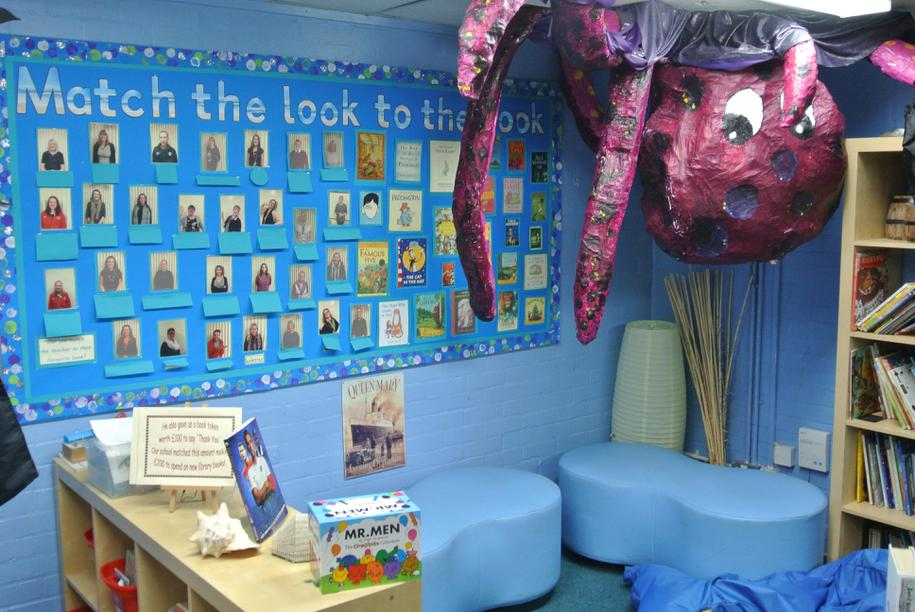 Junior library - Under the sea/Pirate theme