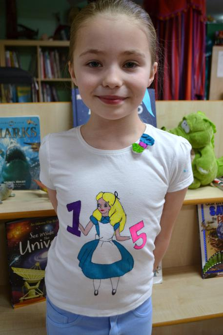 Numberland t-shirt front...