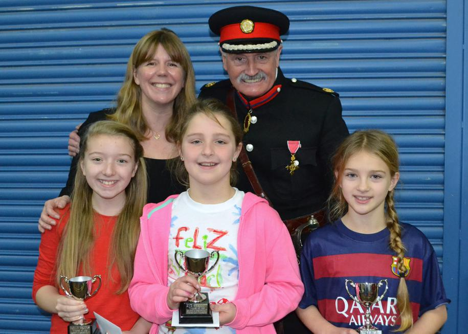 High Sheriff, Miss C-B and the winners