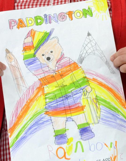 y3 Alice's 'Rainbow' Paddington