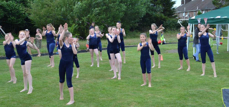 Gymnastics performance