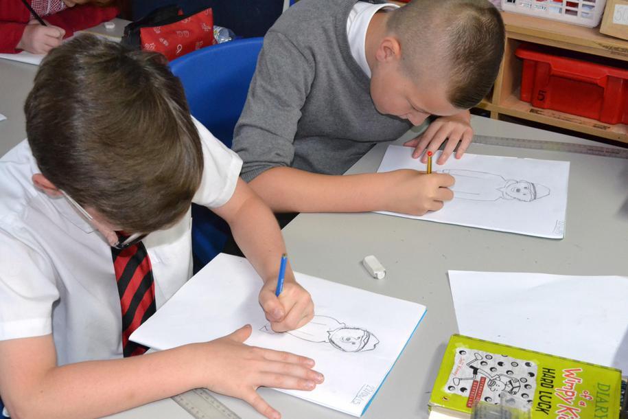 How to draw Paddington