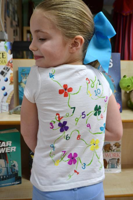 ...and Numberland t-shirt back!
