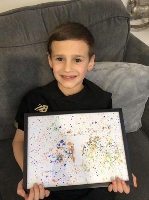 'Drippy' art, Jackson Pollock style!