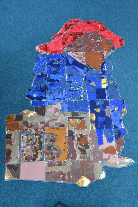 Y4's giant Paddington collage