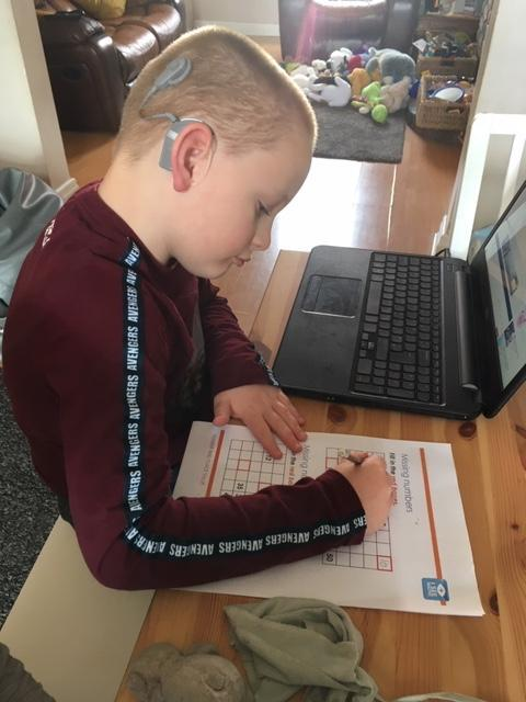 Brilliant concentration - well done!