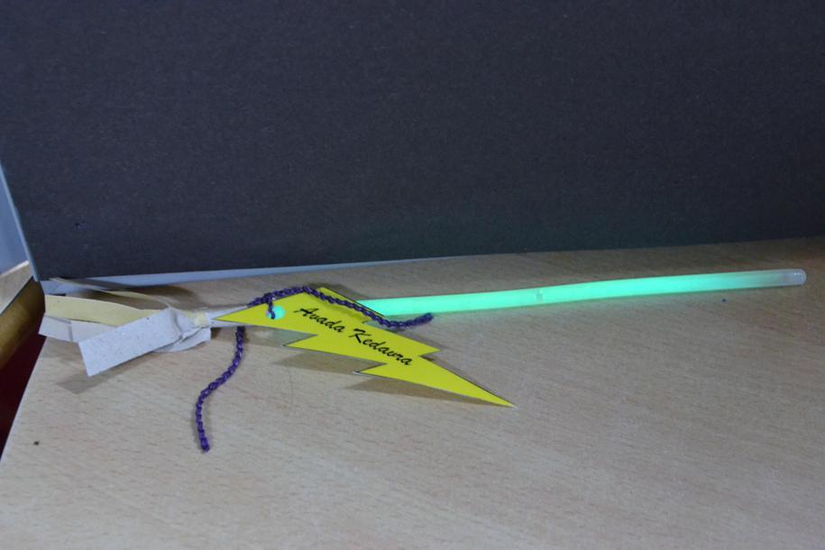Glow broomsticks