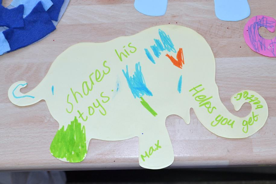 Nursery's elephants