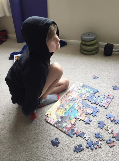 Puzzling it all out!