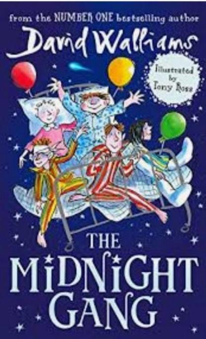 Michael read 'The Midnight Gang' by David Walliams