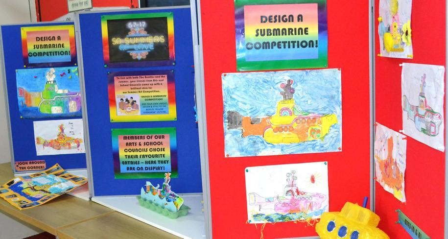 Winners display