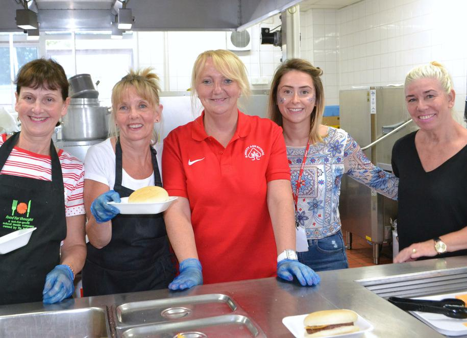 Our fabulous catering team