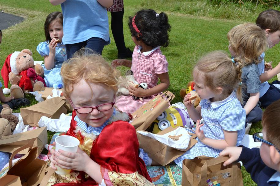 Teddy bears' picnic!