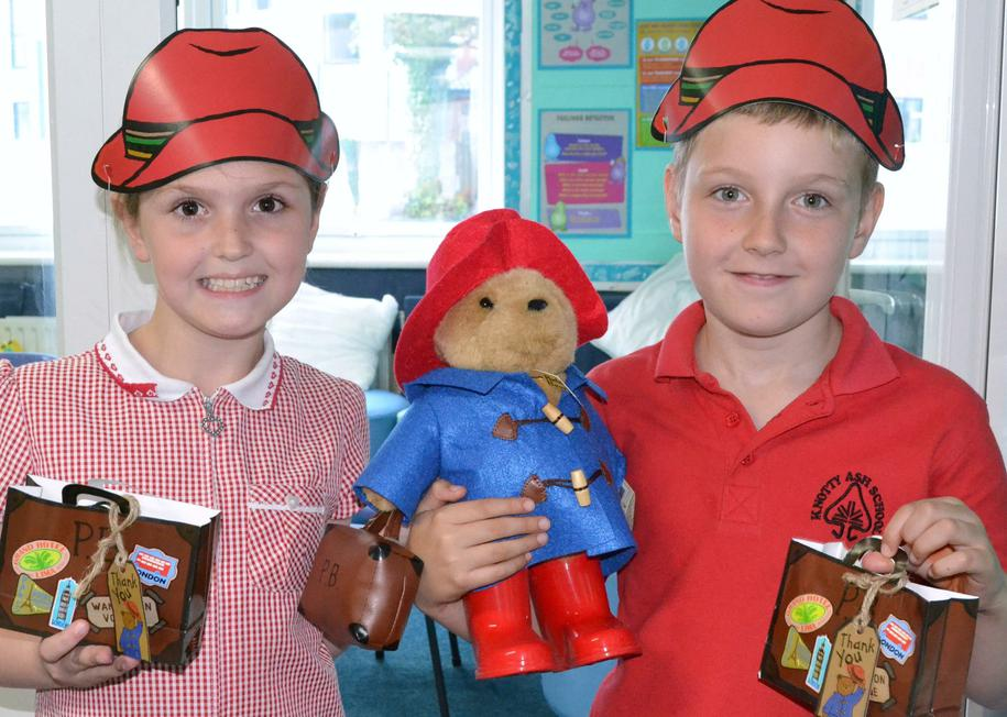 y4 competition winners with their prizes!