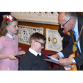 Certificates presented by the Lord Mayor