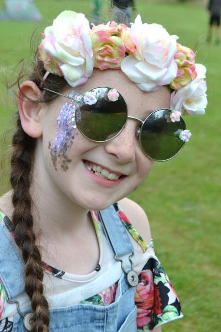 Fabulous festival girl