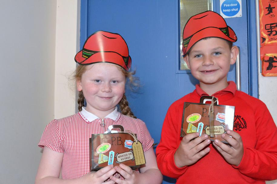 y1 Competition winners with their prizes