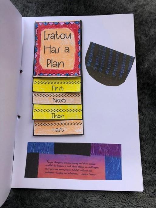 Tyler's Terrific Book Art - page 3