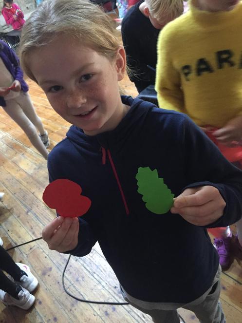 making poppies