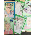 Frida Kahlo Inspired Portraits