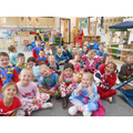 The children came to school in their pyjamas.