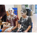 Mr Newsome and Miss Furzland being 'pied.'