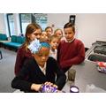 We made hot chocolate using measuring skills