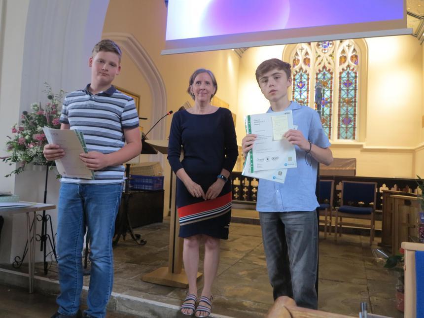 Year 11 leavers certificates