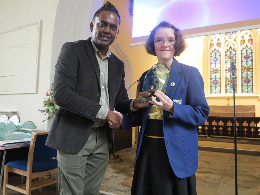 Sue Howard award for spoken English