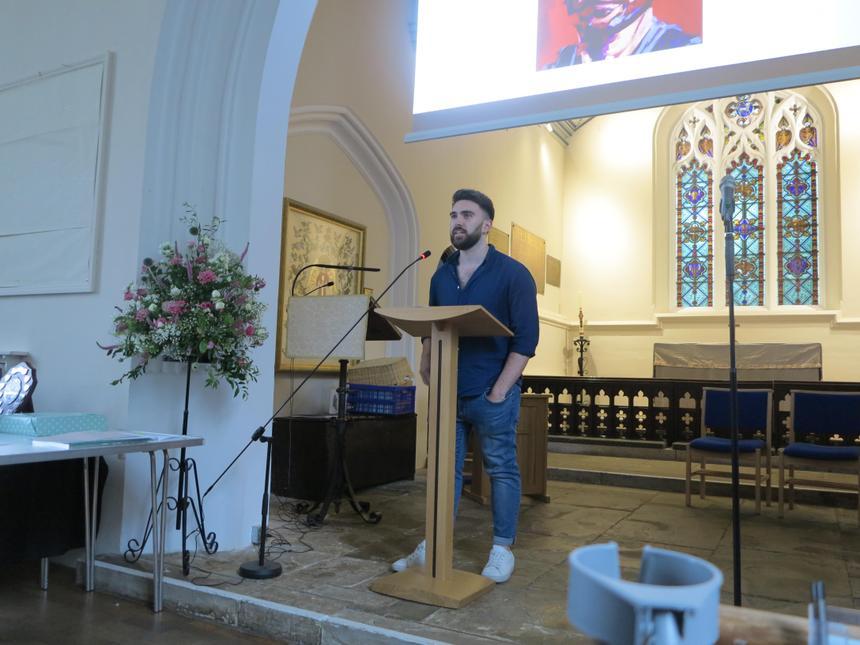 Bradley Kenny, guest speaker