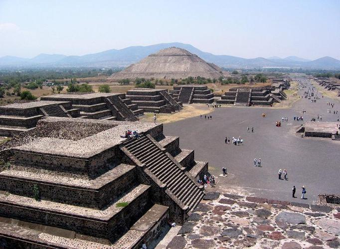 Teotihuacan in Mexico conquered Tikal