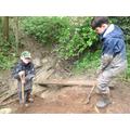 Digging steps