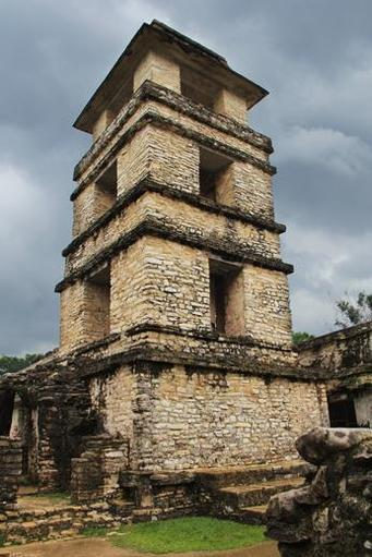 The watchtower still makes quite an impression!