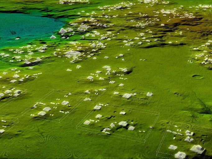 Scientists can colourise and 3D model LiDAR data