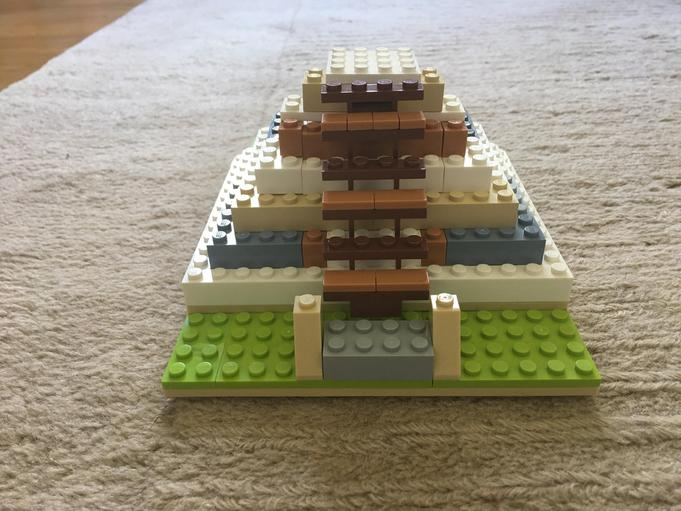 Another great Lego temple by Pippa!