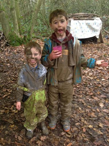muddiest boys ever!