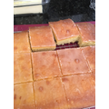 Luca has made his first Lemon Drizzle Cake!